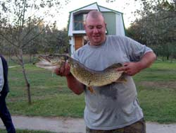 Рыбалка в дельте волги щука