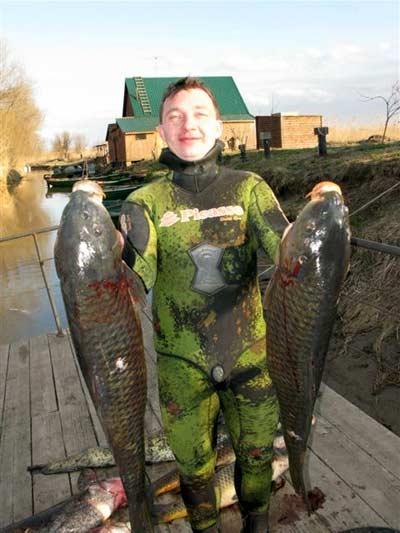 Отдых охота подводная охота и рыбалка